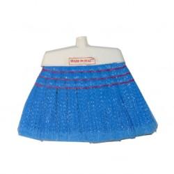 Balai plastique Bleu Soroya avec manche